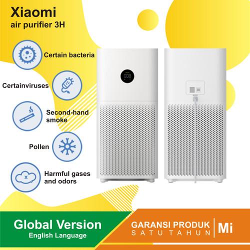 Foto Produk Xiaomi Mi Air Purifier 3H OLED Touch Display - Pembersih Udara GLOBAL - 3C GLOBAL VER dari Kardel Shop