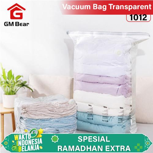 Foto Produk GM Bear Vaccum bag 1012-Vaccum Bag Transparent 45x70 dari GM Bear