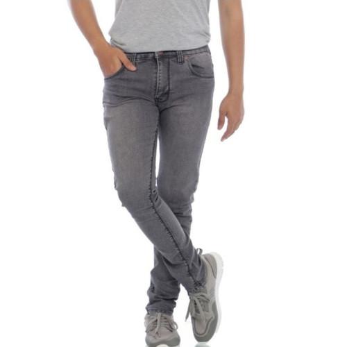 Foto Produk Celana jeans Pria-Skinny Jeans-All Brand - Abu-abu, S dari Bari0elin Cloth Bandung