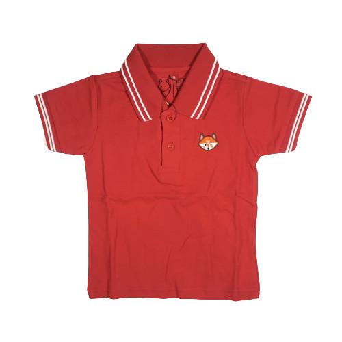 Foto Produk Polo Shirt Anak - Anak Warna Merah Usia 1-9T  P009 - by Little Jergio - SMALL dari Little Jergio