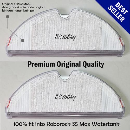 Foto Produk Roborock S5 Max S6 Mop Cloth (sparepart) - Mop 2 pcs dari BC88Shop