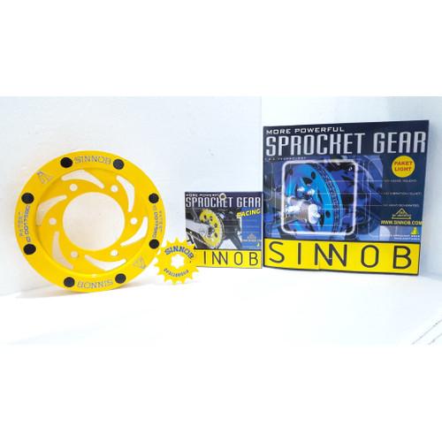 Foto Produk Gear Set Sinnob Supra X 125 Premium Gear saja Custom dari Motochiefdotnet