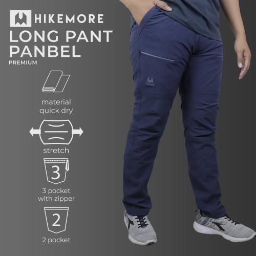Foto Produk Celana Panjang Hiking Outdoor Quickdry Razzor Panbel Premium Original - M, Hikemore Navy dari Razzor.ID