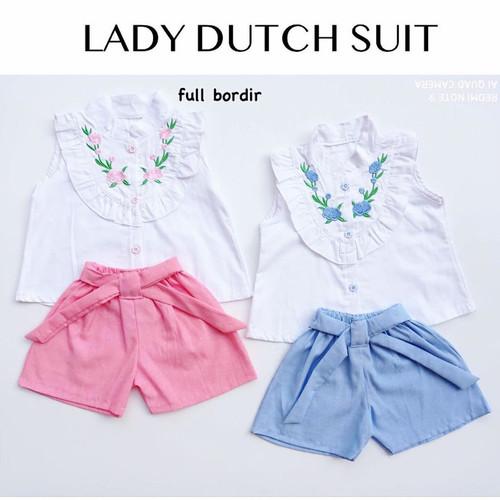Foto Produk Lady Dutch Costume / Setelan Bayi Perempuan Lucu Murah / Baju Bayi dari kat.babyclothing
