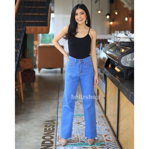 Foto Produk Celana Jeans Kulot Wanita / Fiona Kulot Jeans / Ready Jumbo - Medium, Size 27 dari rumahjeans