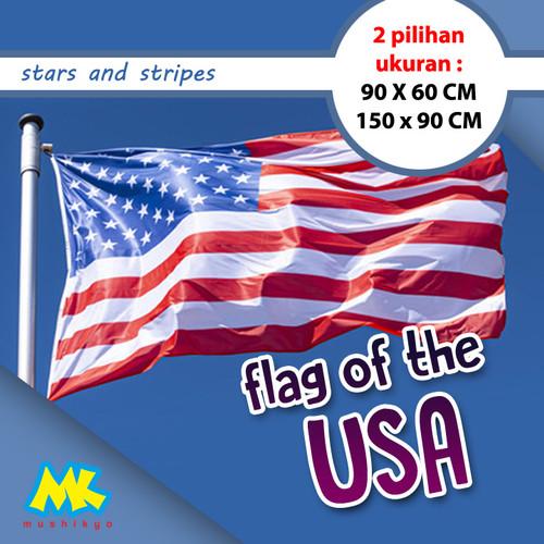 Foto Produk Bendera Amerika / USA Flag ukuran besar - Besar dari Mushikyo