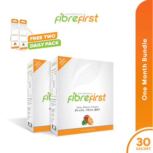 Foto Produk FibreFirst One Month Bundle Free Double Daily dari FibreFirst Official
