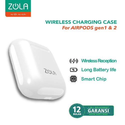Foto Produk ZOLA Wireless Charging Case For Apple Airpods 1st Gen / 2nd Gen dari Zola Indonesia