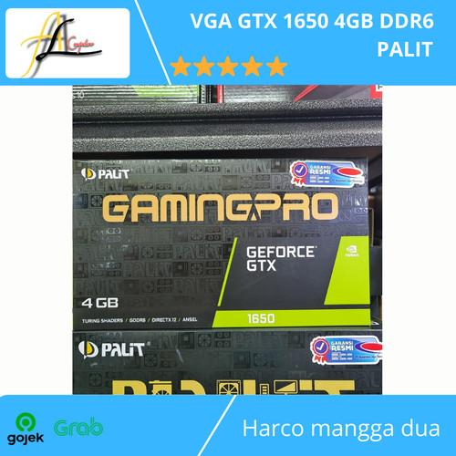 Foto Produk VGA GTX 1650 4GB DDR6 PALIT dari AL computerr