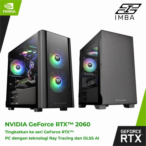 Foto Produk PC GAMING | i7-10700 | RTX2060 | 8GB | SSD | Gaming PC - i7-10700fx2060 dari IMBA PC