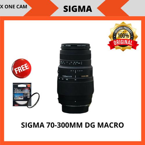 Foto Produk lensa sigma 70-300mm f/1:4-5.6 DG MACRO FOR CANON DAN NIKON - Hitam dari X ONE CAM
