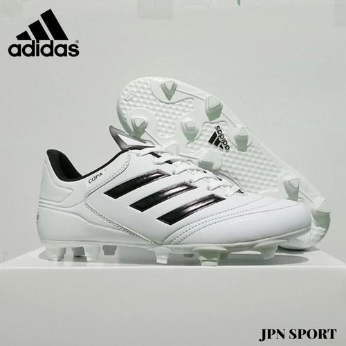 Foto Produk Diskon Sepatu Bola adidas Model Copa Terbaru Grid Ori - Putih, 39 dari JPN SPORT