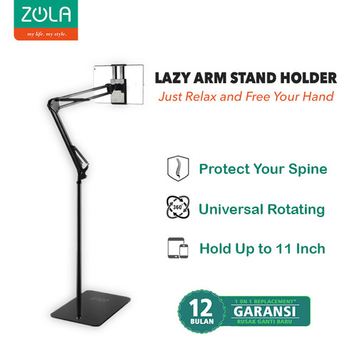Foto Produk Zola Arm Stand Suspension Holder LazyPod 1.75M For phone And Tablet dari Zola Indonesia