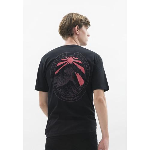 Foto Produk Kaos hitam t shirt polos houseofcuff motif Surfing READY HINGGA 4XL - S dari House of Cuff