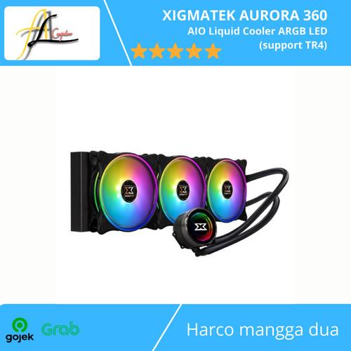 Foto Produk XIGMATEK AURORA 360 - AIO Liquid Cooler ARGB LED (support TR4) dari AL computerr