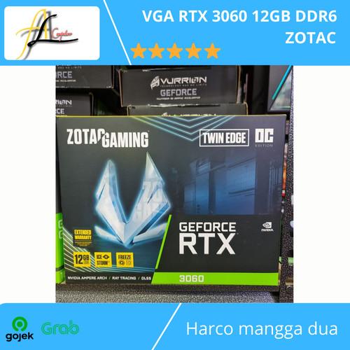 Foto Produk VGA RTX 3060 12GB DDR6 ZOTAC dari AL computerr
