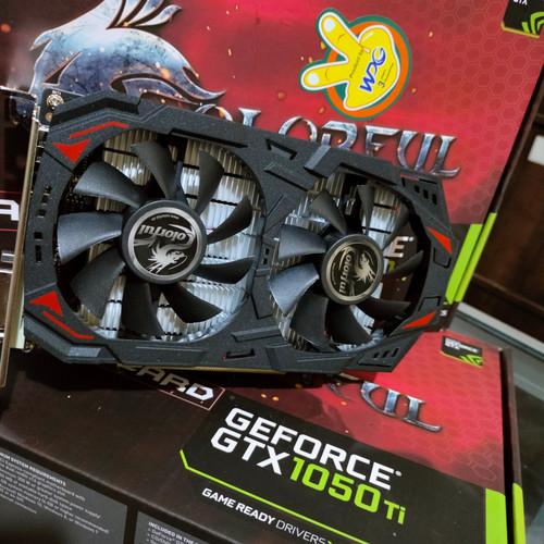 Foto Produk Colorful NVIDIA GEFORCE GTX 1050 TI 4Gb DDR5 dari TOKO ONE COMPUTER