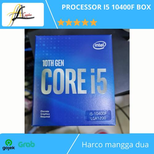 Foto Produk PROCESSOR I5 10400F BOX dari AL computerr