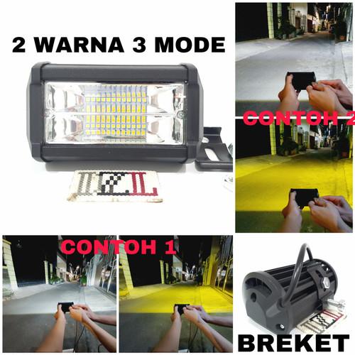 Foto Produk LAMPU TEMBAK LED CWL 24 MATA 2 WARNA PUTIH DAN KUNING 3 MODE STROBO dari DZL-Led