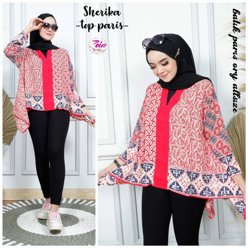 Foto Produk blouse kartini batik paris ratih dari Jivan Batik