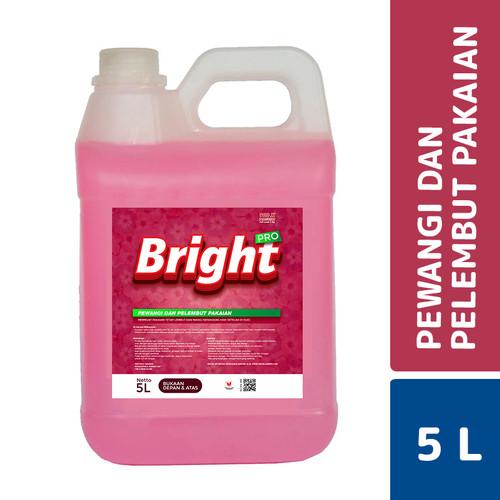 Foto Produk MLC Bright Pro Pewangi Pakaian Romantic Pink 5 L dari Mesinlaundry