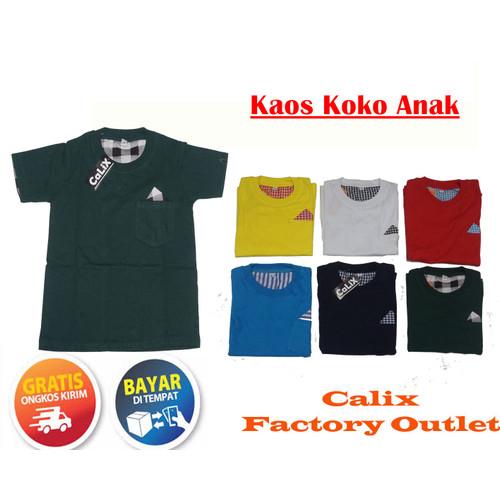 Foto Produk Kaos Koko Anak Bahan Cotton Premium - Lumut, 2 dari calix super kids