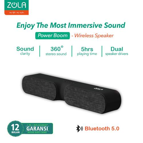 Foto Produk Zola Power Boom High Definition Sound Wireless Speaker Bluetooth 5.0 dari Zola Indonesia