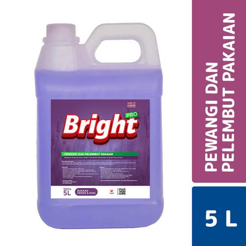 Foto Produk MLC Bright Pro Pewangi Pakaian Exotic Purple 5 L dari Mesinlaundry