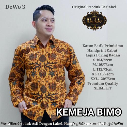Foto Produk kemeja slimfit batik bimo premium dari Jivan Batik