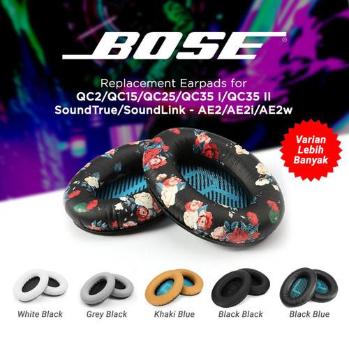 Foto Produk Earpad Ear Cushion Pad Pads Bose Quite Comfort QC15 QC35 QC2 QC25 AE2 - Black Black dari popcap