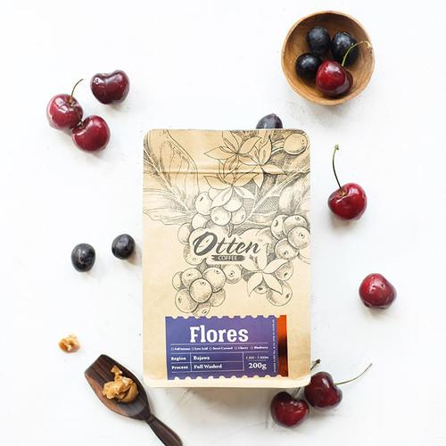 Foto Produk Flores Bajawa 200g Kopi Arabica - Wholebean dari Otten Coffee Jakarta