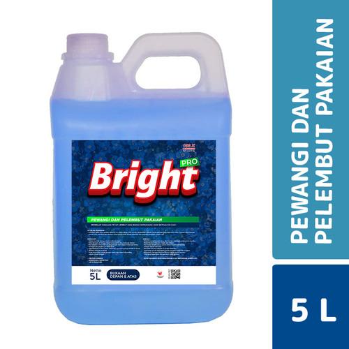 Foto Produk MLC Bright Pro Pewangi Pakaian Comfort Blue 5 L dari Mesinlaundry