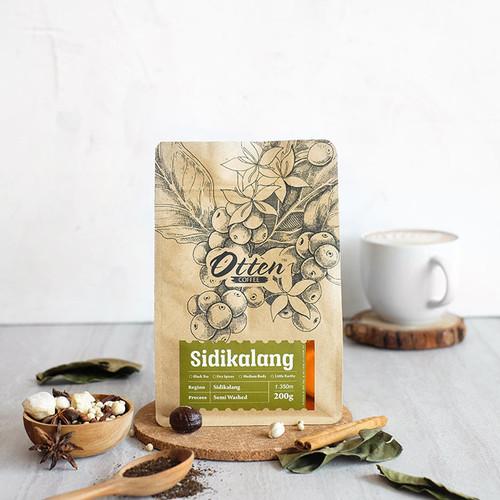 Foto Produk Sidikalang 200g Kopi Arabica - Wholebean dari Otten Coffee Jakarta