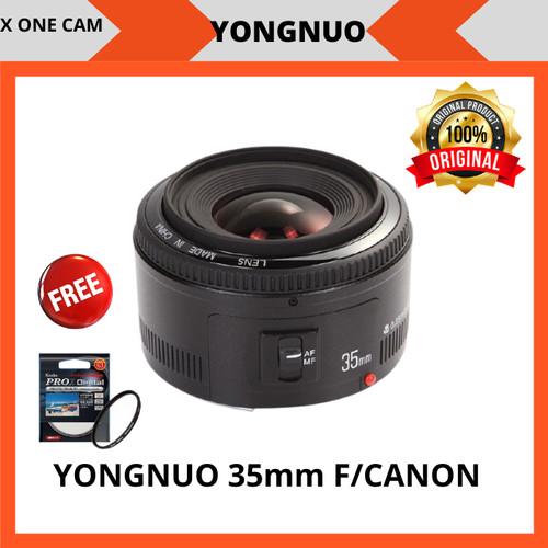 Foto Produk Lensa Fix Yongnuo 35mm For Canon dari X ONE CAM