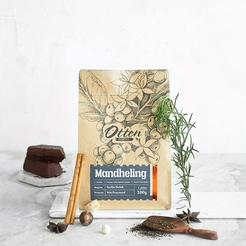 Foto Produk Mandheling 200g Kopi Arabica - Wholebean dari Otten Coffee Jakarta