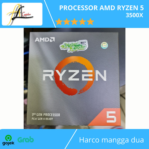 Foto Produk PROCESSOR AMD RYZEN 5 3500X dari AL computerr