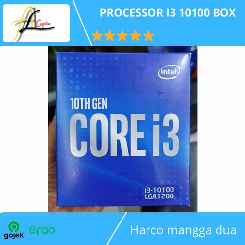 Foto Produk PROCESSOR I3 10100 BOX dari AL computerr