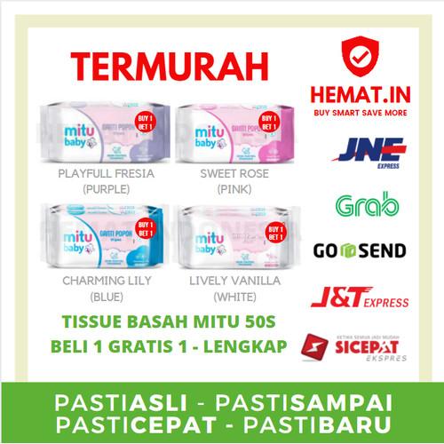 Foto Produk BELI 1 GRATIS 1 MITU BABY WIPES 50S Tisu basah bayi HEMAT INDONESIA - RANDOM dari Hemat Indonesia