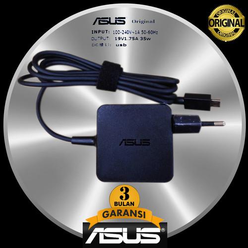 Foto Produk Adaptor ORIGINAL Asus X205 X205TA E202S E202SA E205SA 19v 1.75a micro dari JHESTORES