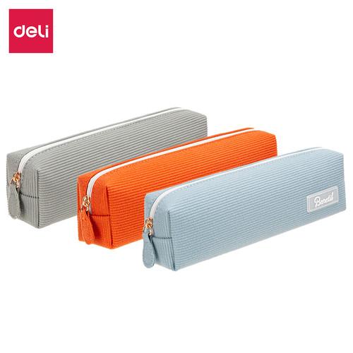 Foto Produk Deli Pencil Pouch/Tempat Pensil Penyimpanan Besar design simple 670XX - TYPE 1 dari Deli Stationery