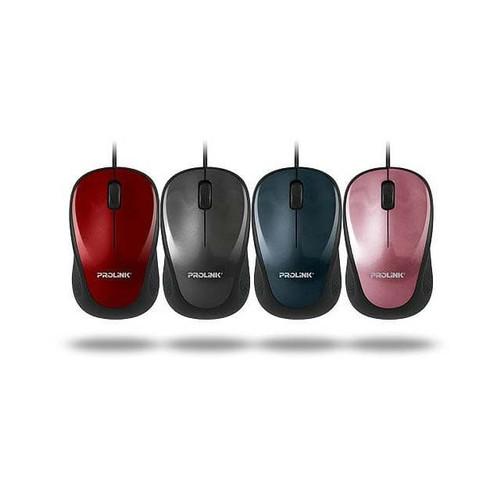 Foto Produk Mouse prolink PMO630U Mouse Optical USB Wired 3 Button 1000 DPI dari PojokITcom Pusat IT Comp