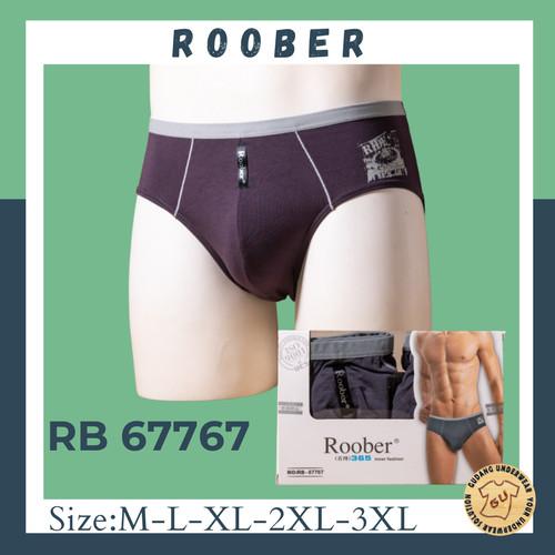 Foto Produk Roober Celana Dalam Pria Import |Bahan Soft Viscose RB 67767 |ISI-2 dari GUDANG PAKAIAN DALAM