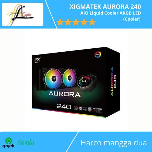 Foto Produk XIGMATEK AURORA 240 - AIO Liquid Cooler ARGB LED (Cooler) dari AL computerr