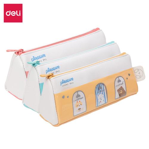 Foto Produk Deli Pencil Pouch/Tempat Pensil Penyimpanan Besar design simple 670XX - TYPE 3 dari Deli Stationery