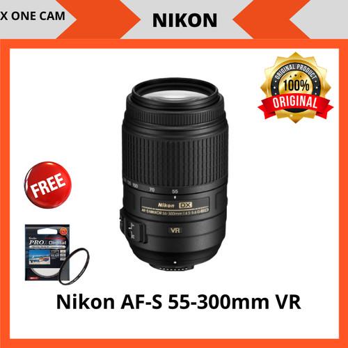 Foto Produk Lensa Nikon AF-S 55-300mm F/4.5-5.6G VR dari X ONE CAM
