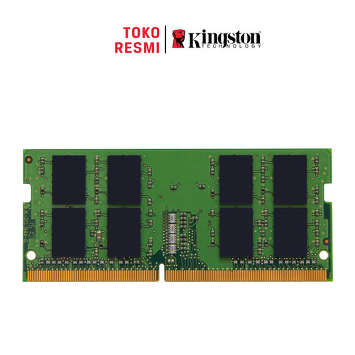 Foto Produk Kingston RAM SODIMM KVR26S19S6/4 4GB DDR4 2666MHz Non-ECC dari Kingston Official Store