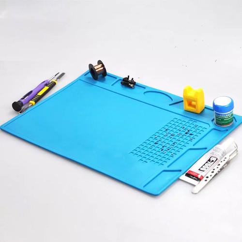 Foto Produk TE-502 Alas Solder Mat Karpet karet anti panas tatakan solder dari RAJACELL BEKASI