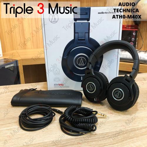 Foto Produk Audio Technica ATH M40x [BANDUNG] ORIGINAL Headphone monitor Studio dari triple3music