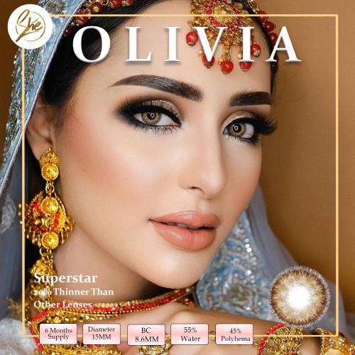 Foto Produk Superstar Olivia Softlens Warna Premium - Normal dari Shesoftlens