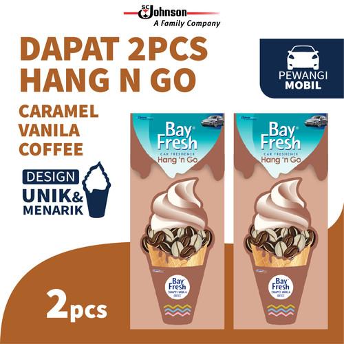 Foto Produk [Twin Pack] Bayfresh Hang N' Go Caramel Vanilla x 2pcs dari SC Johnson & Son ID